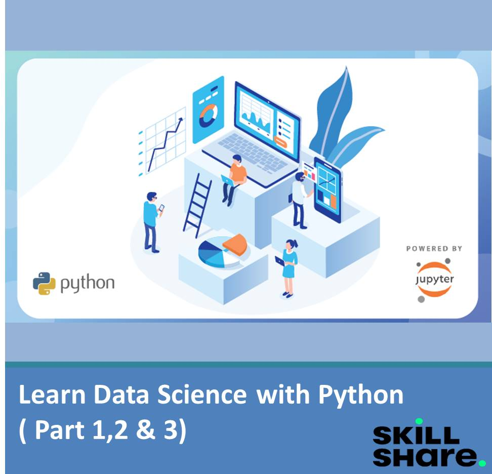 Learn Data Science with Python ( Part 1,2 &3)