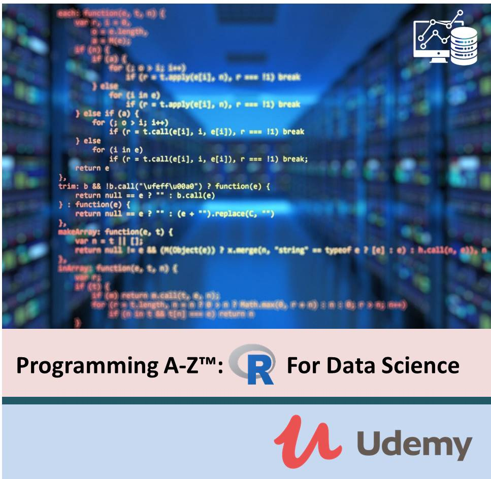 Programming A-Z™ R For Data Science With Real Exercises