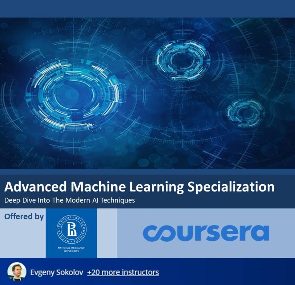 Advanced Machine Learning Specialization