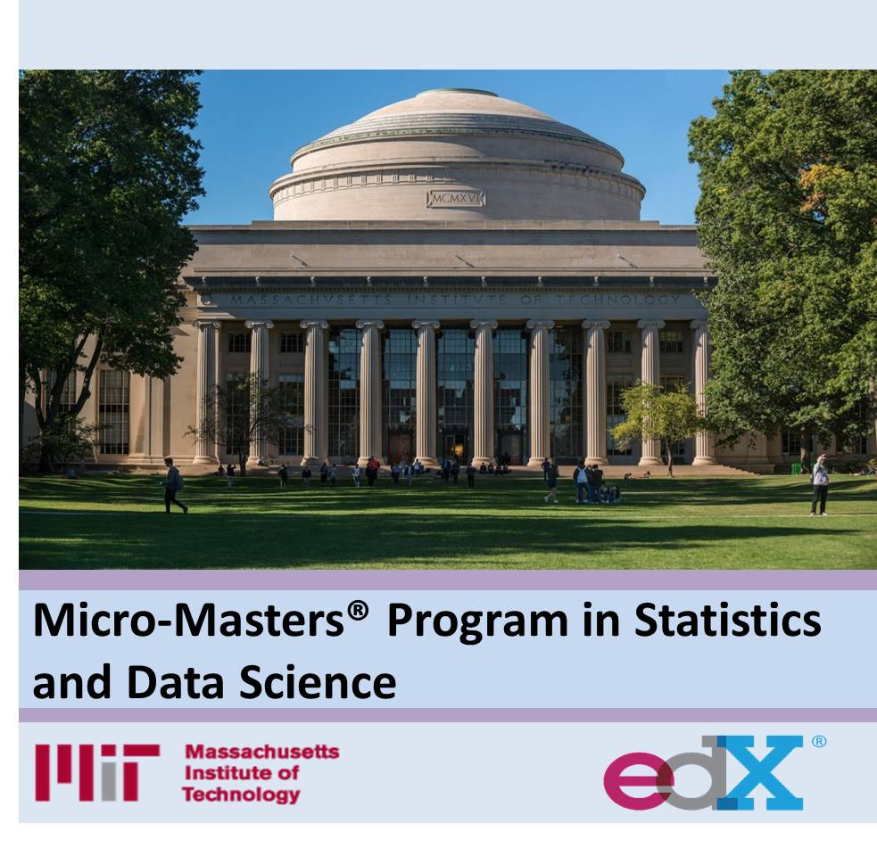 Micro-Masters® Program in Statistics and Data Science EDX Product Image