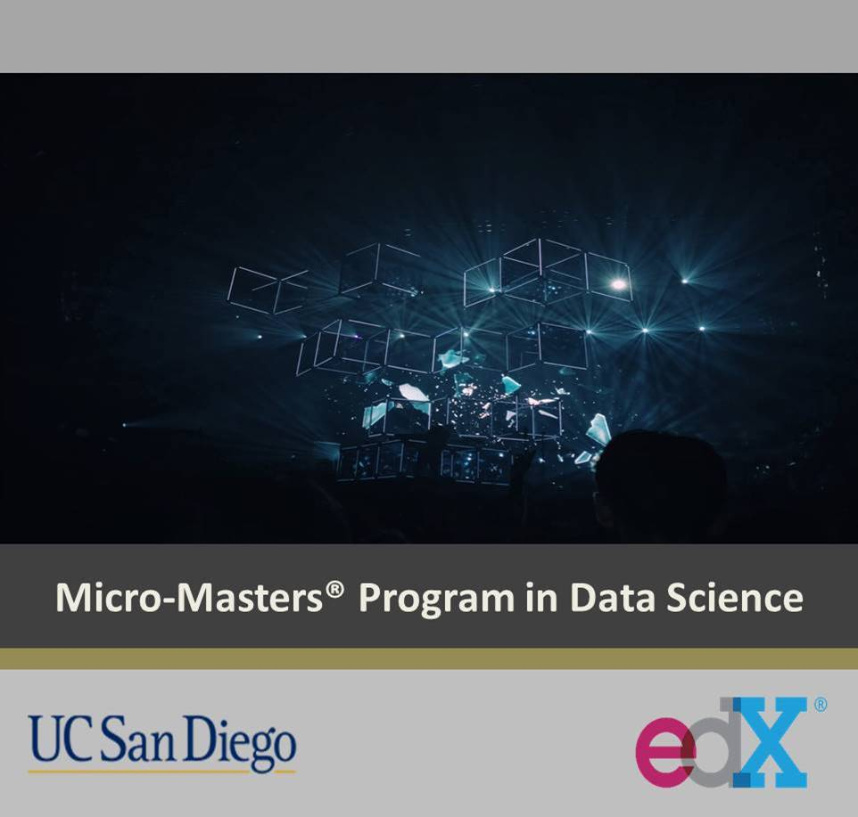 Micro-Masters in data science