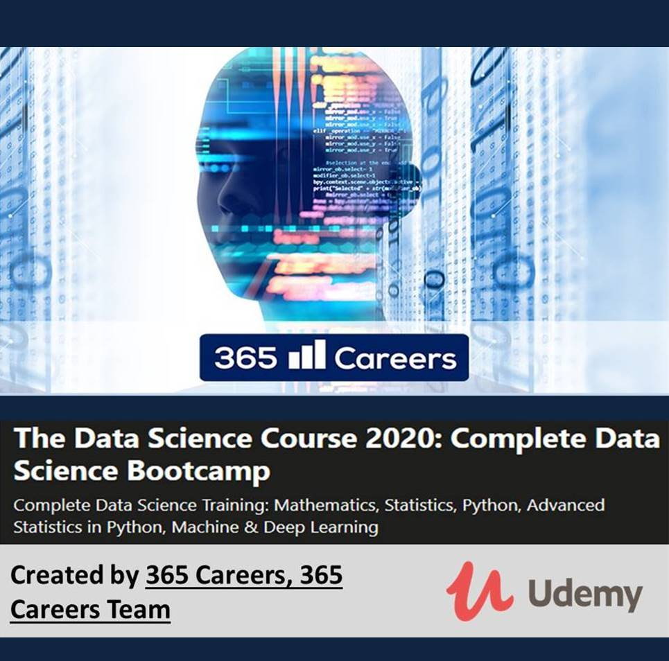 The Data Science Course 2020 Complete Data Science Bootcamp